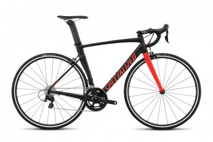 Велосипед Specialized Allez DSW SL Sprint Comp (2017) / Черно-красный