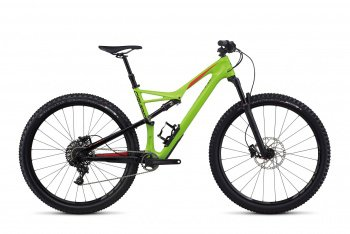 Велосипед Specialized Camber Comp Carbon 29 (2017) / Зелёный
