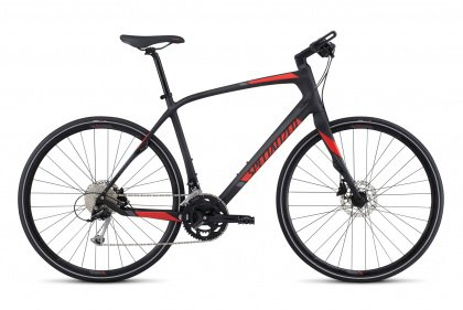 Велосипед Specialized Sirrus Sport Carbon (2017) / Серый