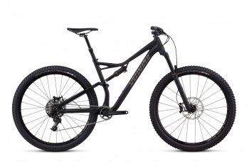 Велосипед Specialized Stumpjumper FSR Comp 29 (2017) / Чёрный