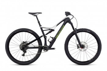 Велосипед Specialized Stumpjumper FSR Comp Carbon 29 (2017) / Чёрно-серебристый