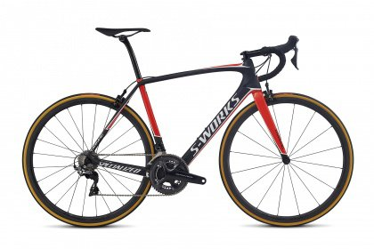Велосипед Specialized S-Works Tarmac Dura-Ace (2017) / Чёрно-красный