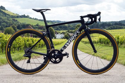 Велосипед Specialized Men's S-Works Tarmac (2018) / Черный