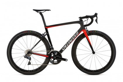 Велосипед Specialized Men's Tarmac Pro (2018) / Черно-красный