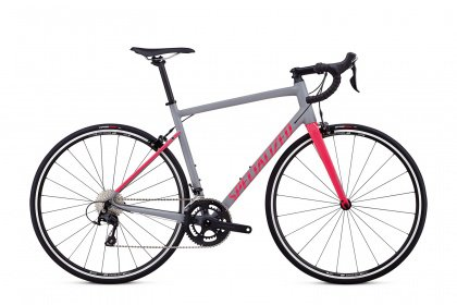 Велосипед Specialized Allez Elite (2018) / Серо-розовый