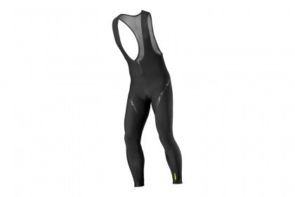 Велорейтузы Mavic Cosmic Elite Thermo Bib Tight (2018) / Черные