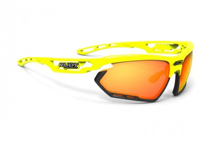 Очки Rudy Project Fotonyk / Yellow Fluo Gloss Multilaser Orange
