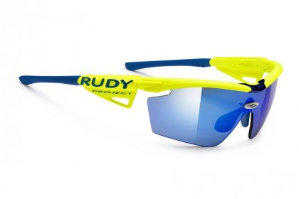 Очки Rudy Project Genetyk Racing Pro / Yellow Fluo Multilaser Blue