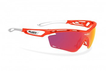 Очки Rudy Project Tralyx / Red Fluo Gloss Multilaser Orange