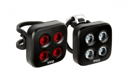 Велофонари Knog Blinder Mob The Face Twinpack, передний и задний