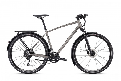 Велосипед Specialized CrossTrail Elite EQ—Black Top Collection (2018) / Серый