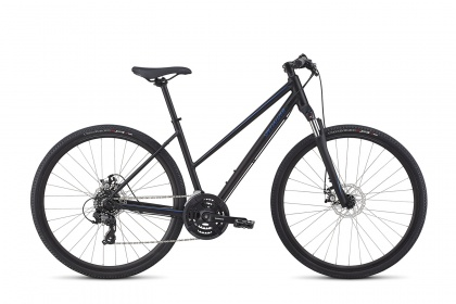 Велосипед женский Specialized Ariel Mechanical Disc Step-Through (2018) / Черный