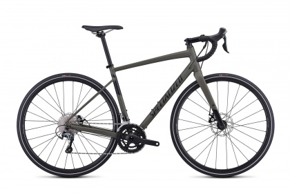 Велосипед Specialized Men's Diverge E5 Elite (2019) / Серо-зеленый
