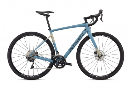 Велосипед Specialized Men's Diverge Comp (2019) / Голубой