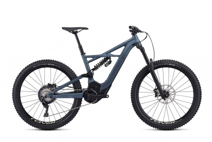 Электровелосипед Specialized Turbo Kenevo FSR Comp 6Fattie (2019) / Серо-голубой