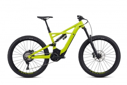 Электровелосипед Specialized Turbo Kenevo FSR Comp 6Fattie (2019) / Желтый