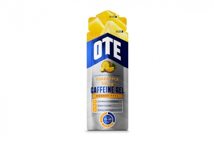 Гель изотонический углеводный с кофеином OTE Caffeine Energy Gel, 56 грамм / Ананас