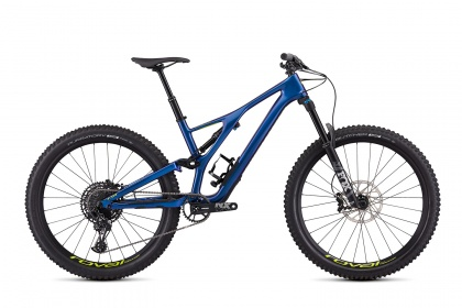 Велосипед Specialized Stumpjumper Men's Comp Carbon 27.5 12-SPD (2019) / Синий