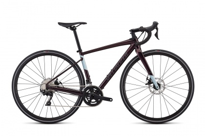 Велосипед Specialized Diverge Women's E5 Comp (2019) / Фиолетовый