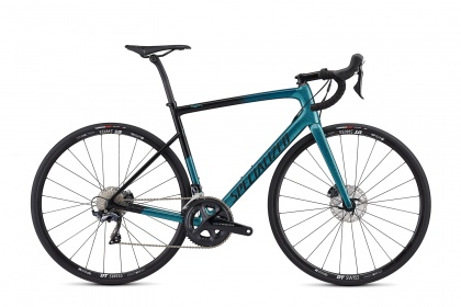 Велосипед шоссейный Specialized Men's Tarmac SL6 Comp Disc (2019) / Зеленый (Sagan Collection)