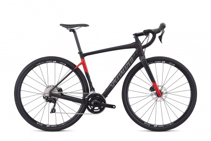 Велосипед Specialized Men's Diverge Sport Carbon (2019) / Черный