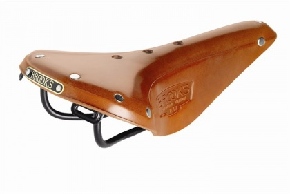 Седло Brooks B17 Narrow / Медовое