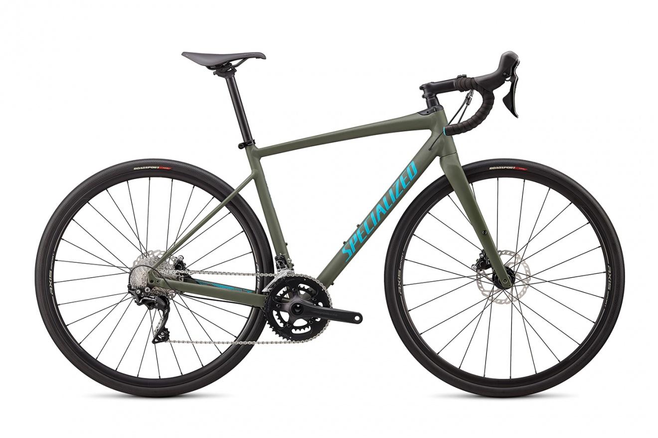 Велосипед гравийный Specialized Diverge E5 Comp (2020) / Зеленый