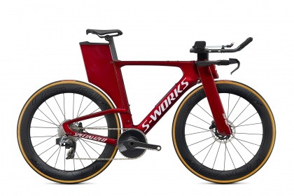 Велосипед для триатлона Specialized Shiv S-Works eTap (2020) / Красный