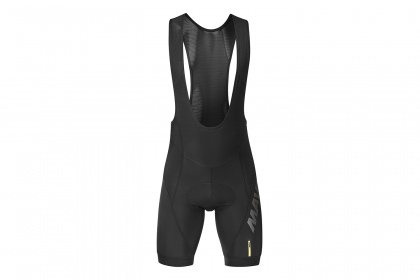 Велотрусы Mavic Cosmic Elite Thermo Bib Short (2020), с лямками / Черные