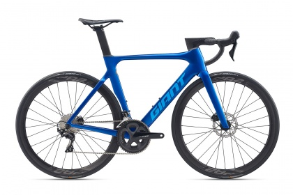 Велосипед шоссейный Giant Propel Advanced 2 Disc (2020) / Синий