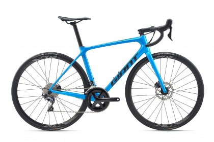 Велосипед шоссейный Giant TCR Advanced 1 Disc Pro Compact (2020) / Синий