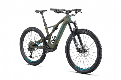 Электровелосипед Specialized Turbo Levo SL Expert Carbon (2020) / Зеленый