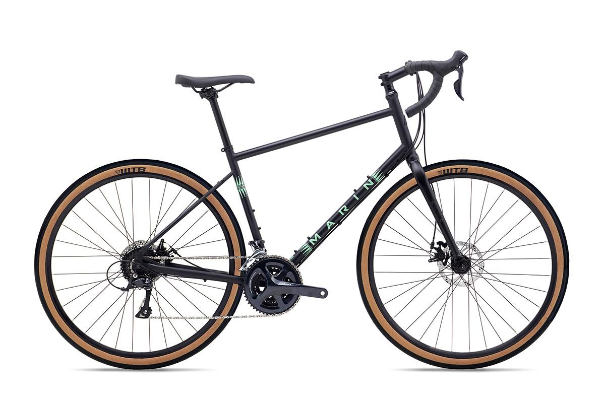 Велосипед туристический Marin Four Corners (2020) / Черный