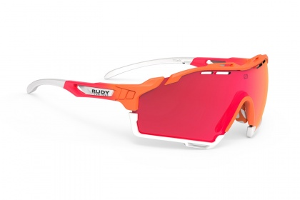 Очки Rudy Project Cutline / Mandarin Fade Coral Matte RP Optics Multilaser Red