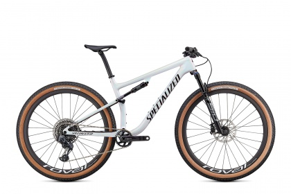 Велосипед Specialized Epic Pro (2021) / Белый хамелеон