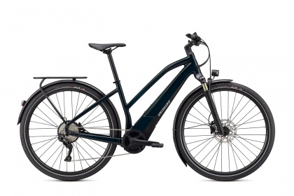 Электровелосипед Specialized Turbo Vado 4.0 Step-Through (2021) / Сине-зеленый