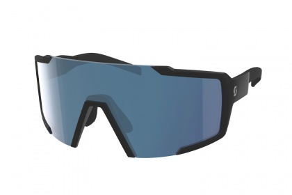 Очки Scott Shield / Black Matt Blue Chrome Enhancer