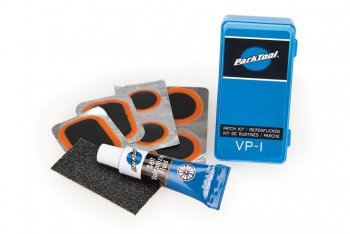 Ремкомплект Park Tool Vulcanizing Patch Kit, для камер, с клеем