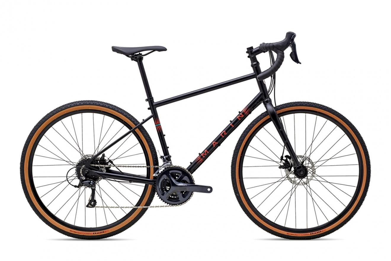 Велосипед туристический Marin Four Corners (2021) / Черный