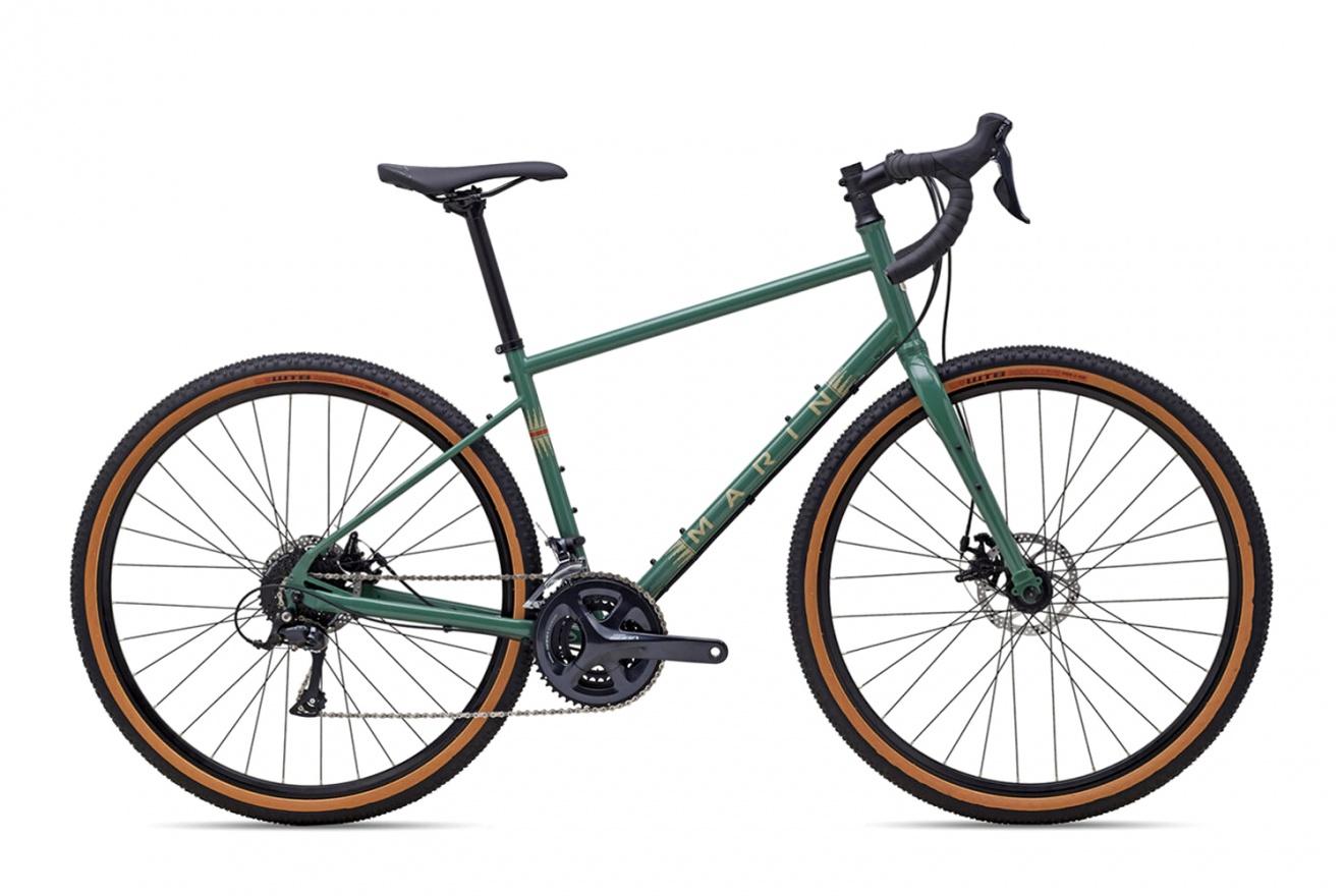 Велосипед туристический Marin Four Corners (2021) / Зеленый