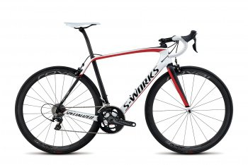 Велосипед Specialized S-Works Tarmac Dura-Ace (2015) / Бело-красный
