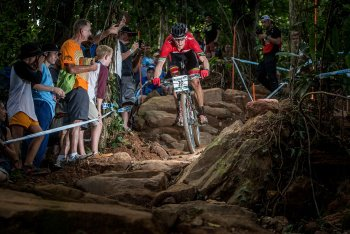 Велосипед Specialized Epic Expert Carbon World Cup 29 (2015) / Оранжевый