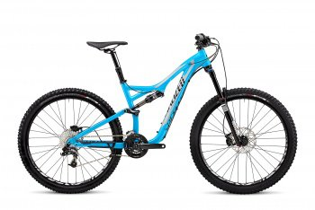 Велосипед Specialized Stumpjumper FSR Comp Evo 650B (2015) / Голубой