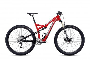 Велосипед Specialized Stumpjumper FSR Expert Carbon 29 (2014) / Красный