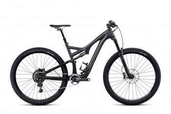 Велосипед Specialized Stumpjumper FSR Expert Carbon Evo 29 (2014) / Серый