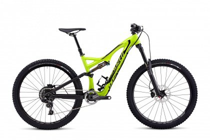 Велосипед Specialized Stumpjumper FSR Expert Carbon Evo 650B (2015) / Зеленый