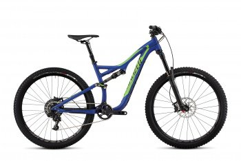 Велосипед Specialized Stumpjumper FSR Elite Evo 650B (2015) / Сине-зеленый