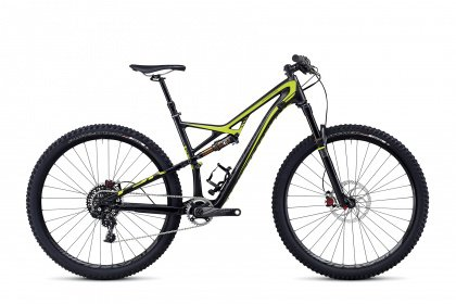 Велосипед Specialized Camber Expert Carbon Evo 29 (2014) / Серо-зеленый