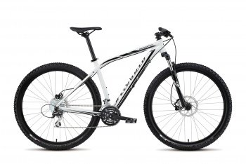 Велосипед Specialized Rockhopper 29 (2015) / Бело-черный