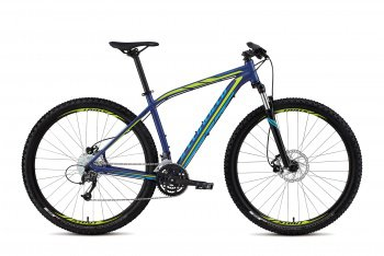 Велосипед Specialized Rockhopper Sport 29 (2015) / Сине-зеленый